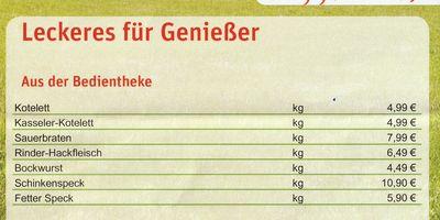 Eberswalder Wurst und Fleisch Werksverkauf Wandlitz in Wandlitz