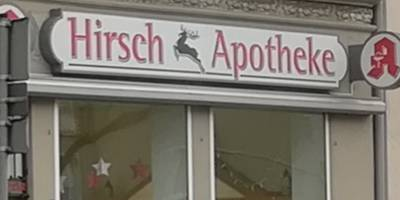 Hirsch-Apotheke, Inh. Monika Moseler in Eberswalde
