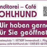 Cafe - Konditorei Kohlhund in Immenstadt im Allgäu