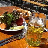 Biergarten am Muffatwerk in München