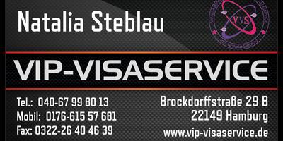 VIP-Visaservice, Inh. Natalia Steblau in Hamburg