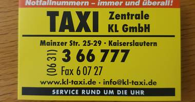 Taxi-Zentrale KL GmbH in Kaiserslautern