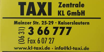 TAXI-Zentrale KL GmbH, ehem. Funk Taxi Zentrale e.V. in Kaiserslautern