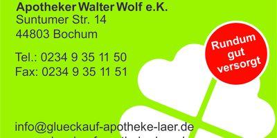 Glückauf-Apotheke Laer, Inh. Walter Wolf in Bochum