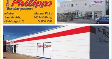 Thomas Philipps Sonderposten Inhaber Manuel Finke in Bitburg