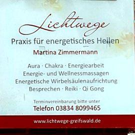 Bild zu LICHTWEGE - Praxis für energtisches & geistiges Heilen Martina Zimmermann in Greifswald