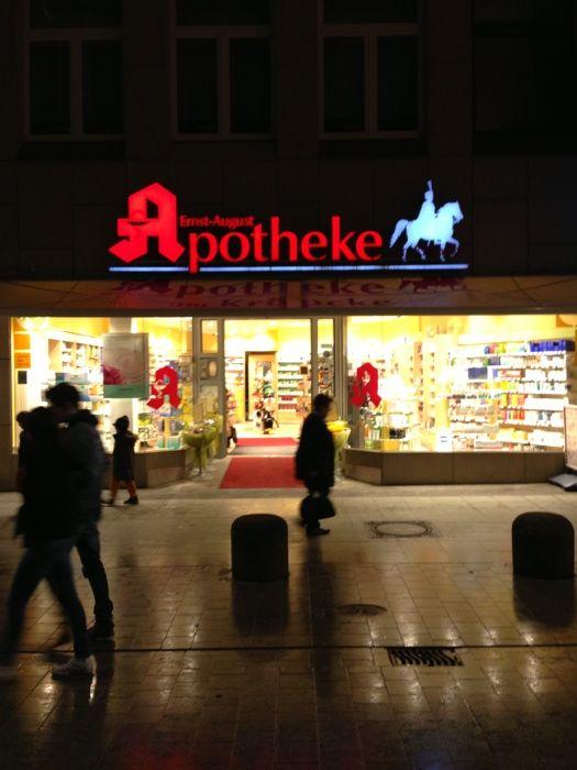 Ernst August Apotheke 2 Bewertungen Hannover Mitte Niki De