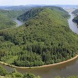 Saarschleife - Orscholz - Cloef in Mettlach