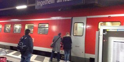 Bahnhof Ingelheim in Ingelheim am Rhein