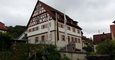 Altes Amtshaus in Ailringen Gemeinde Mulfingen