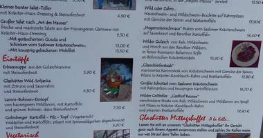 Alter Dorfkonsum in Glashütte Stadt Baruth in der Mark