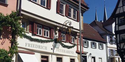 Weinstube Konditorei Feyerabend in Bad Wimpfen