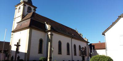 Katholische Kirche St. Margareta in Grombach Stadt Bad Rappenau