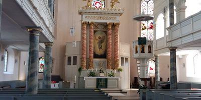 Sankt Gumbertus Kirche - Evangelisch-Lutherische Kirchengemeinde Schwarzenbach a.d. Saale in Schwarzenbach an der Saale