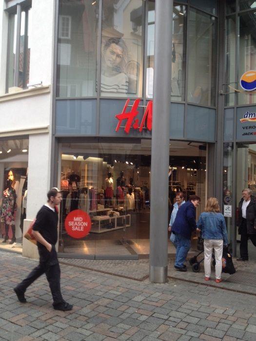 Bilder Und Fotos Zu Hm Hennes Mauritz In Goslar Breite Straße