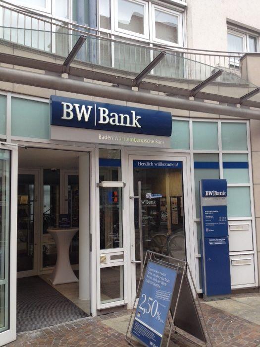 Baden Württembergische Bank Bw Bank 1 Foto Friedrichshafen