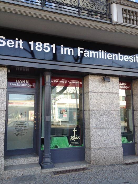 hahn bestattungen gmbh co kg 2 fotos berlin. Black Bedroom Furniture Sets. Home Design Ideas