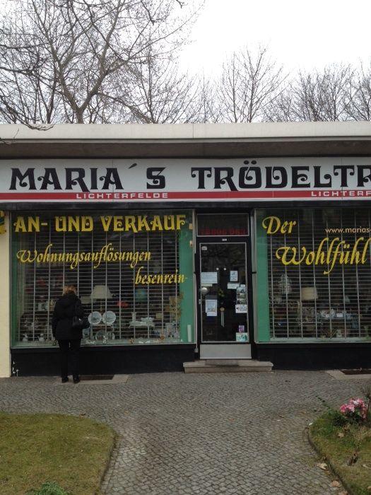 bilder und fotos zu maria 39 s tr del in berlin morgensternstr. Black Bedroom Furniture Sets. Home Design Ideas