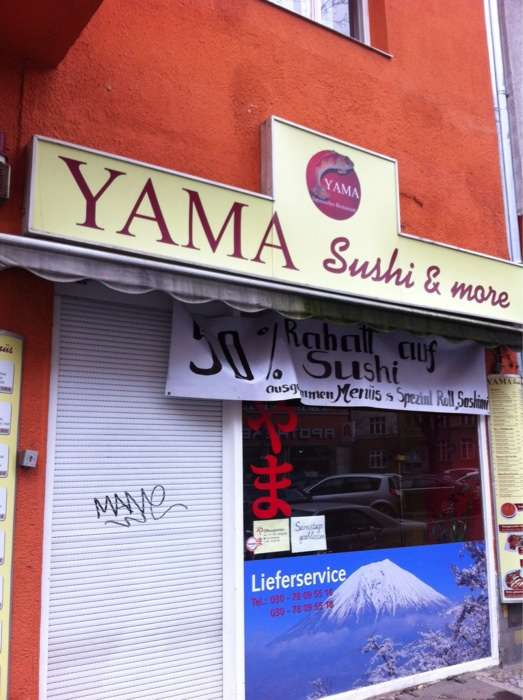 yama sushi more in berlin tempelhof im das telefonbuch finden. Black Bedroom Furniture Sets. Home Design Ideas