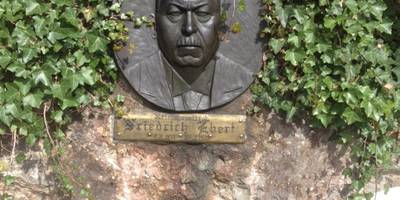 Friedrich Ebert Gedenkstein in Bad Grund (Harz)