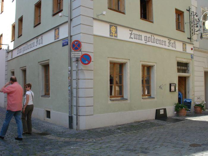 Goldene Fass Regensburg
