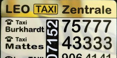 Leo Taxi Taxiunternehmer in Ramtel Gemeinde Leonberg in Württemberg