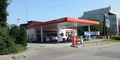 TOTAL Tankstelle in Ludwigsburg