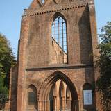 Ruine der Franziskaner-Klosterkirche in Berlin