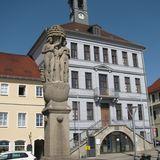 Paradies-Brunnen (Eva-Brunnen) in Bischofswerda