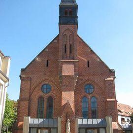 """Katholische Kirche St. Marien """"Unbefleckte Empfängnis"""" Wittenberg in Lutherstadt Wittenberg"""