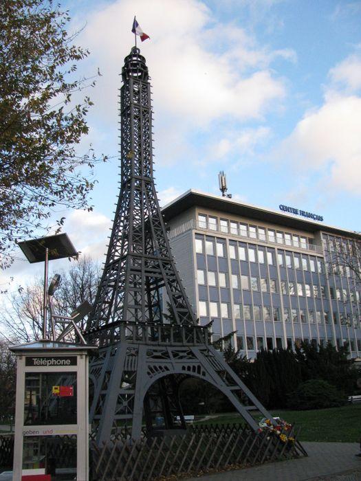 Bilder und fotos zu centre francais in berlin m llerstr for Eiffel restaurant berlin