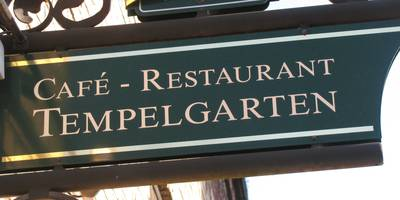 Cafe & Restaurant Tempelgarten in Neuruppin