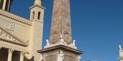 Obelisk auf dem Alten Markt Potsdam in Potsdam