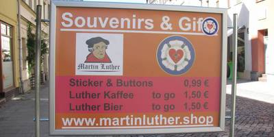 Martin Luther Shop in Lutherstadt Wittenberg