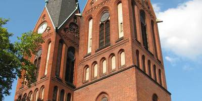 Oekumenisches Europa-Centrum in der Friedenskirche in Frankfurt an der Oder