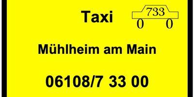 Taxi Mühlheim Krankenfahrten Flughafentransfer in Mühlheim am Main