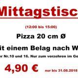 Pizza-Service Milano in Grömitz