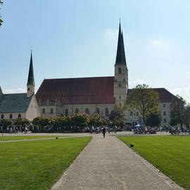 Kapellplatz in Altötting