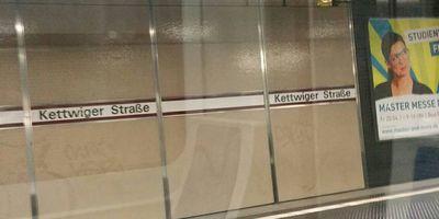 U-Bahnhof Kettwiger Straße in Düsseldorf