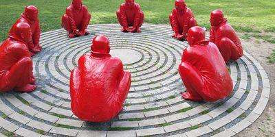Die Rote Männern in Bamberg