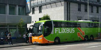 Fernbus Haltestelle Siegen in Siegen