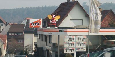 Tankstelle in Birkenfeld in Württemberg