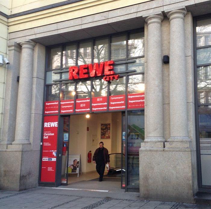 rewe city 2 bewertungen m nchen ludwigsvorstadt bahnhofplatz golocal. Black Bedroom Furniture Sets. Home Design Ideas