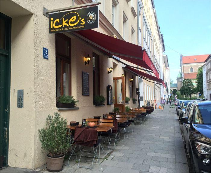 Bilder Und Fotos Zu Ickes Restaurant Und Wohnzimmer In München