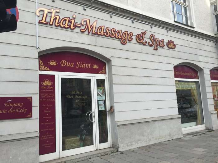 bua siam thai massage spa in m nchen schwabing west im das telefonbuch finden tel 089 38 87. Black Bedroom Furniture Sets. Home Design Ideas