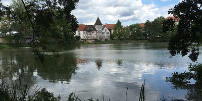 Burgsee in Bad Salzungen