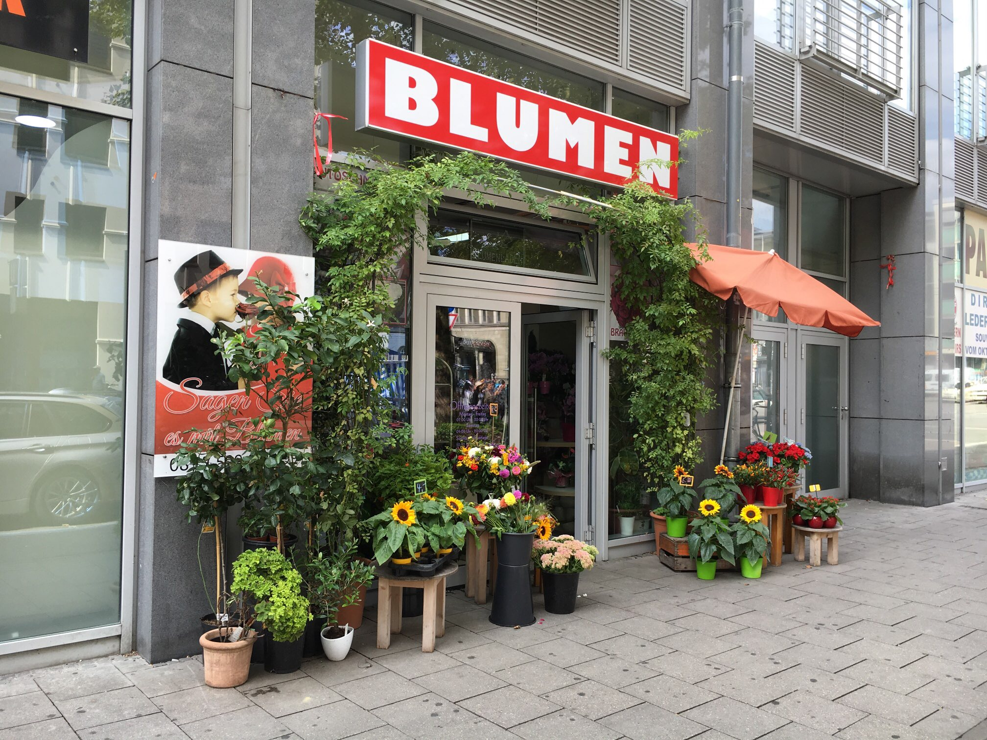 Blumen Deluxe 80336 Munchen Ludwigsvorstadt Offnungszeiten Adresse Telefon