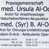Chirurgische Praxis Dr.med. Bassum Al-Odeh u. Dr. Ursula Al-Odeh in Herne