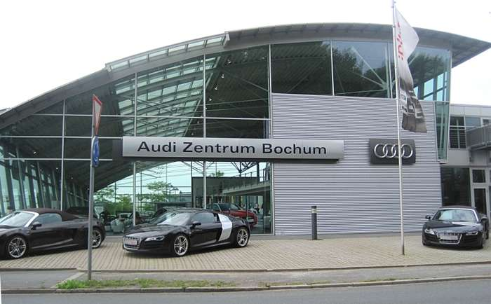 bilder und fotos zu audi zentrum bochum in bochum porschestr. Black Bedroom Furniture Sets. Home Design Ideas