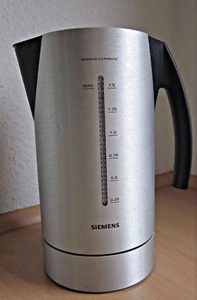 Wasserkocher Siemens Porsche Design ~ Möbel design Idee für Sie ...